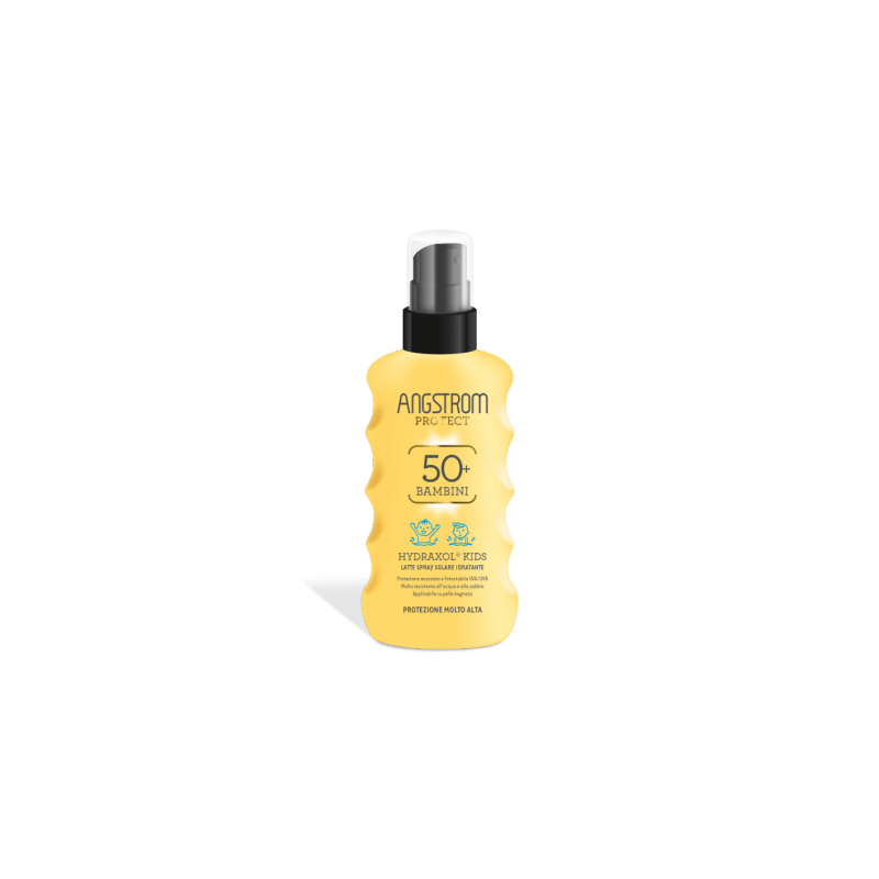 Angstrom - Angstrom Protect Hydraxol Kids Latte Spray Solare Ultra Protezione 50+ 175 Ml - 971486079