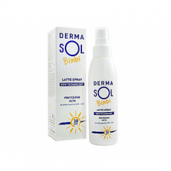 Dermasol - Dermasol Latte Spray Bimbi New Tecnology Spf 30 125ml - 931467498