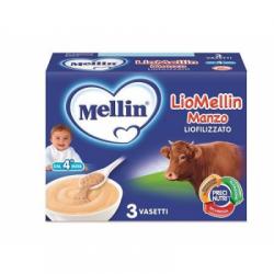 Mellin - Liomellin Manzo Liofilizzato 10 G 3 Pezzi - 908649256