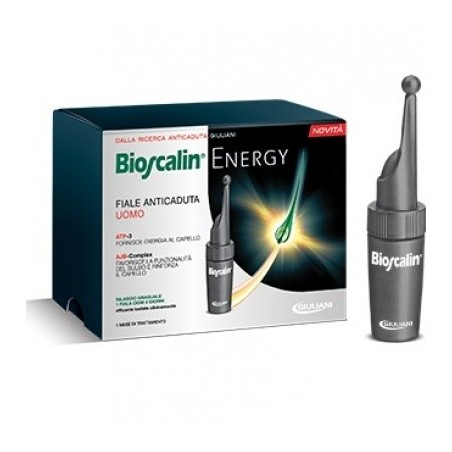 Bioscalin Energy 10 Fiale Da 3,5 Ml L'una