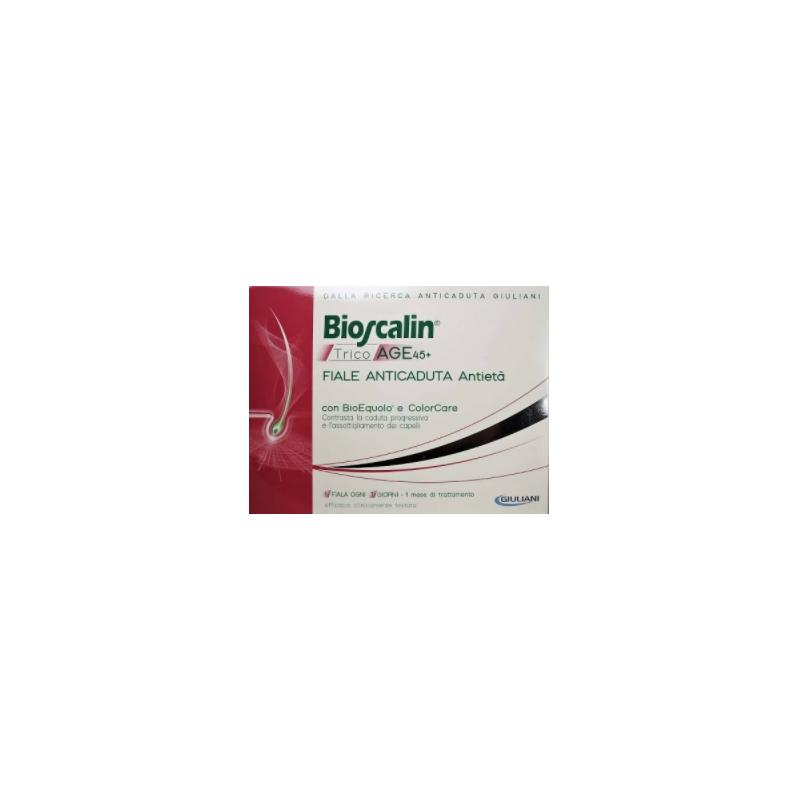 Bioscalin TricoAge 45+ Fiale Anticaduta Donna 10 Fiale