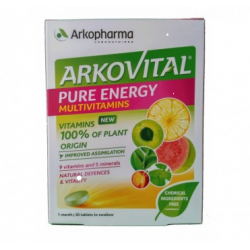 - Arkovital Pure Energy 30 Compresse - 971308426