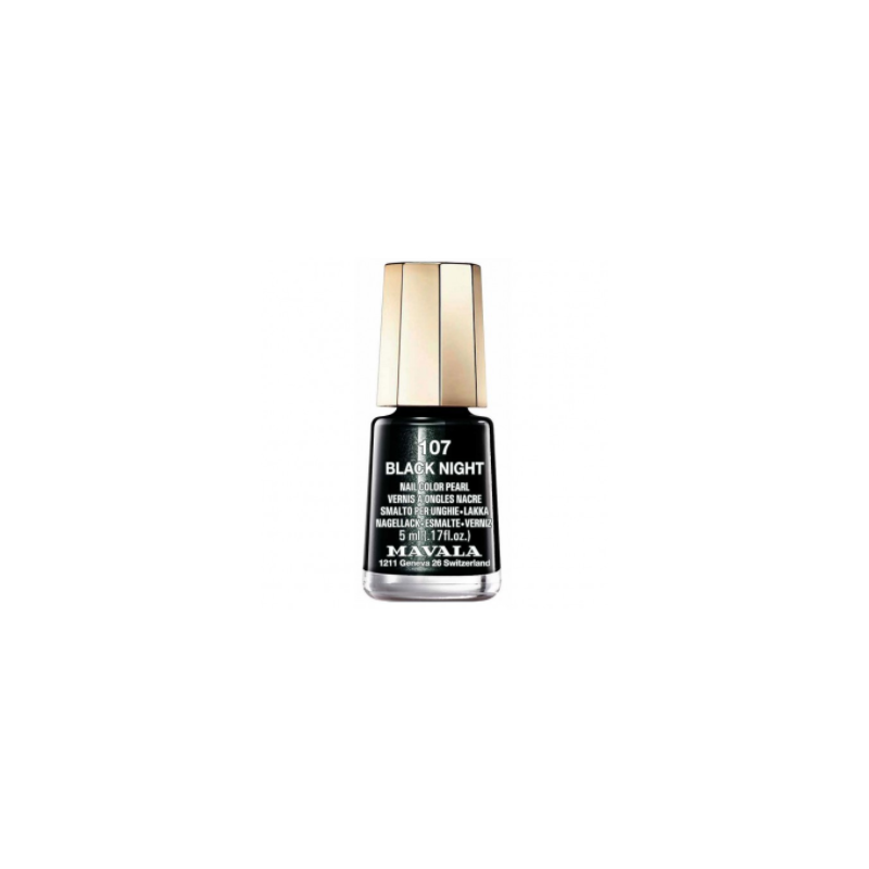 Mavala Minicolor 107 Black Night smalto 5ML