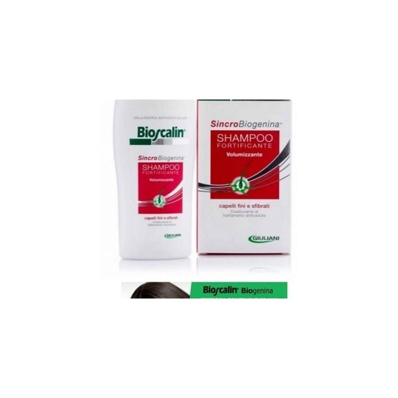 Bioscalin - Bioscalin Sincrobiogenina Shampoo Fortificante Volumizzante Anniversario 200 Ml - 970406789