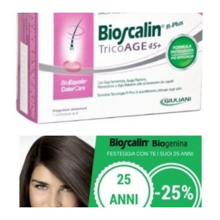 Bioscalin Tricoage Compresse Anniversario 30 Compresse