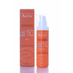 Avene - Avene solare fluido viso 50+ 50 ml pelle sensibile normale e mista - 940999877