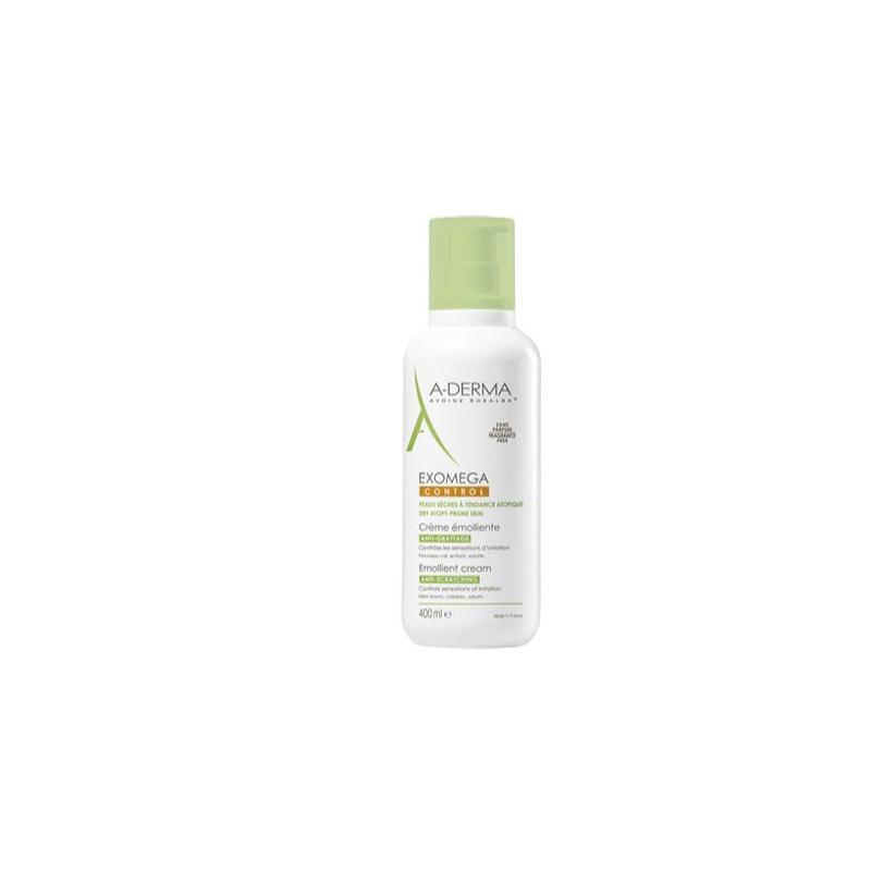 A-derma Exomega control crema Emoliente da 400ml