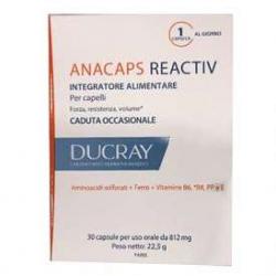 Ducray - Ducray Anacaps Reactiv Integratore per Capelli - 972602609