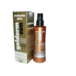 Golderm by shedirpharma - Golderm Sun Melanin Plus latte solare Spray 200 ml - 934231770