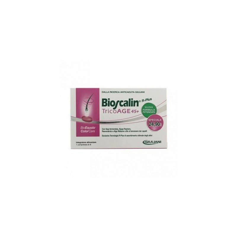Bioscalin - Bioscalin Tricoage45+ 30 Compresse Prezzo Speciale - 935131728