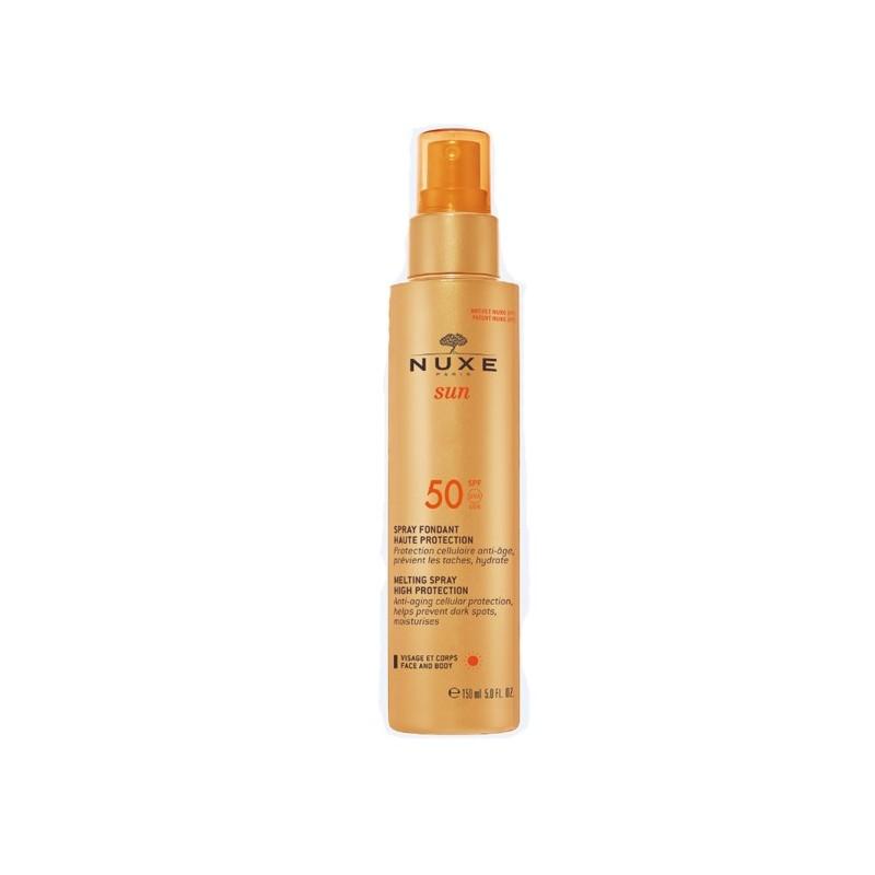 Nuxe Sun Latte Spray Protezione Solare Viso e Corpo SPF 50