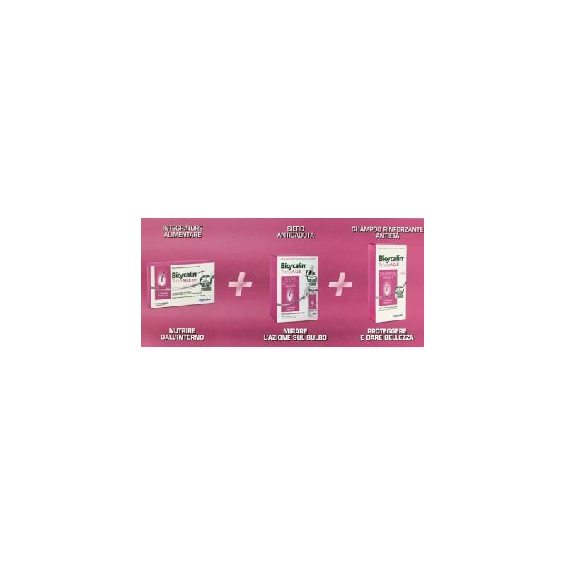 Bioscalin Tricoage Compresse + Siero + Shampoo