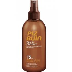 Piz Buin - PIZ BUIN - Tan & Protect - Olio Spray Solare SPF15 Protezione Media 150ml - 974159067