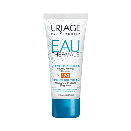 Uriage Eau Thermale Crema All'Acqua Ricca SPF20 40ml
