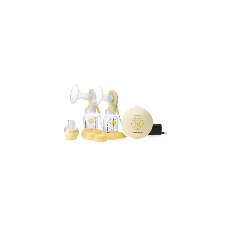 Medela - Swing Maxi Tiralatte Elettrico Doppio con tettarella Calma - 923327439