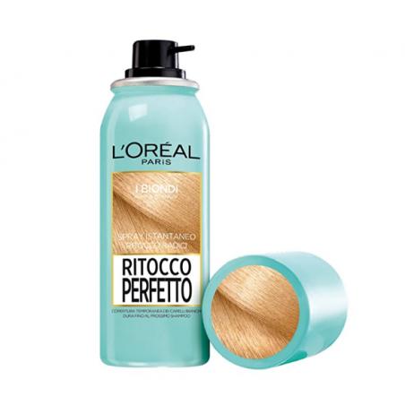 L'Oréal Paris Ritocco Perfetto Spray Istantaneo Ritocco Radici, 5 Biondo