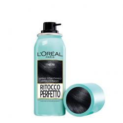 L'Oréal Paris - L'Oréal Paris Ritocco Perfetto Spray Istantaneo Ritocco Radici, 1 Nero - 971722881