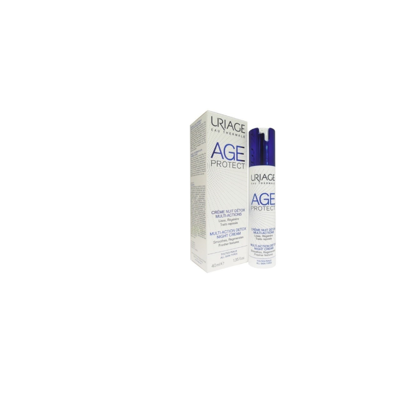 Uriage Age Protect Crema Notte Multi-azione per tutti i tipi di pelle 40ml