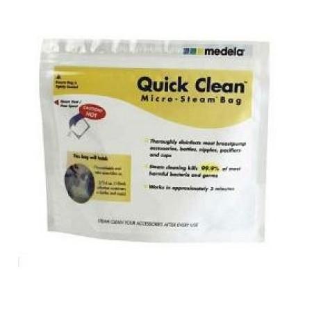 Quick Clean sacca per sterilizzazione a microonde 5 Pezzi