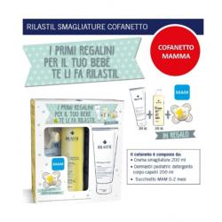 Rilastil - Rilastil Smagliature COFANETTO MAMMA: Crema Corpo Antismagliature 200ml + Detergente Dermastil + Succhietto MAM 0-...