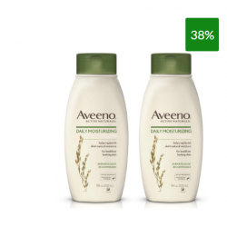 Aveeno - Aveeno Bipack Daily Moisturising Detergente Intimo con Avena 2x500ml - 971559176