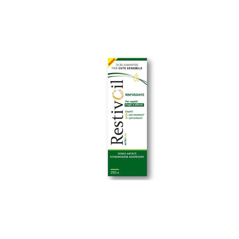 Restivoil Activ Plus shampoo rinforzante per cute sensibile anticaduta 250ml