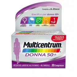 Pfizer - Multicentrum Donna 50+ multivitaminico-multiminerale 30 compresse 复合维生素(女性50+)30粒 - 938657069