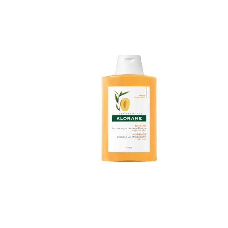 Klorane Shampoo Trattante Nutritivo al burro di Mango 400ml