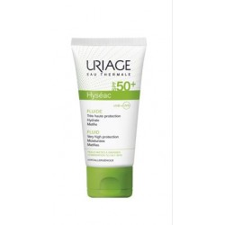 Uriage - URIAGE HYSEAC SOLAIRE FLUIDO SPF 50+ 50 ML - 922880188