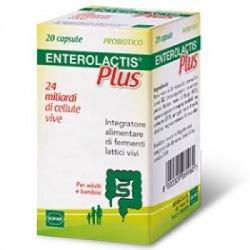 Enterolactis - Enterolactis Plus 20 Capsule - 902557824