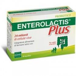 Enterolactis - Enterolactis Plus Polvere 10 Bustine - 902557812