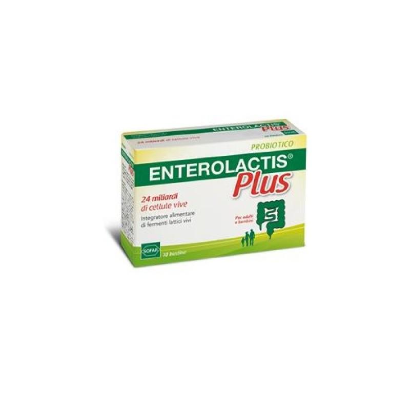 Enterolactis Plus Polvere 10 Bustine