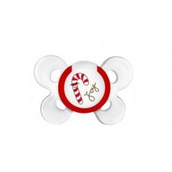 Chicco - Chicco Succhietto Comfort Natale Silicone 6-12m - 973515354
