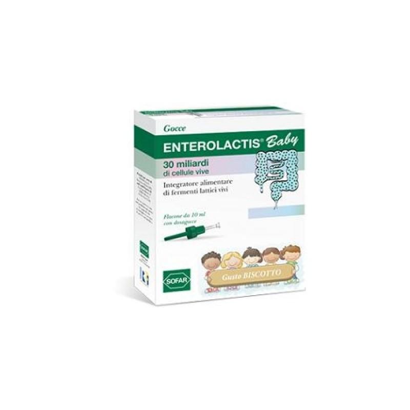 Enterolactis - Enterolactis Baby Gocce 10 Ml - 922410764
