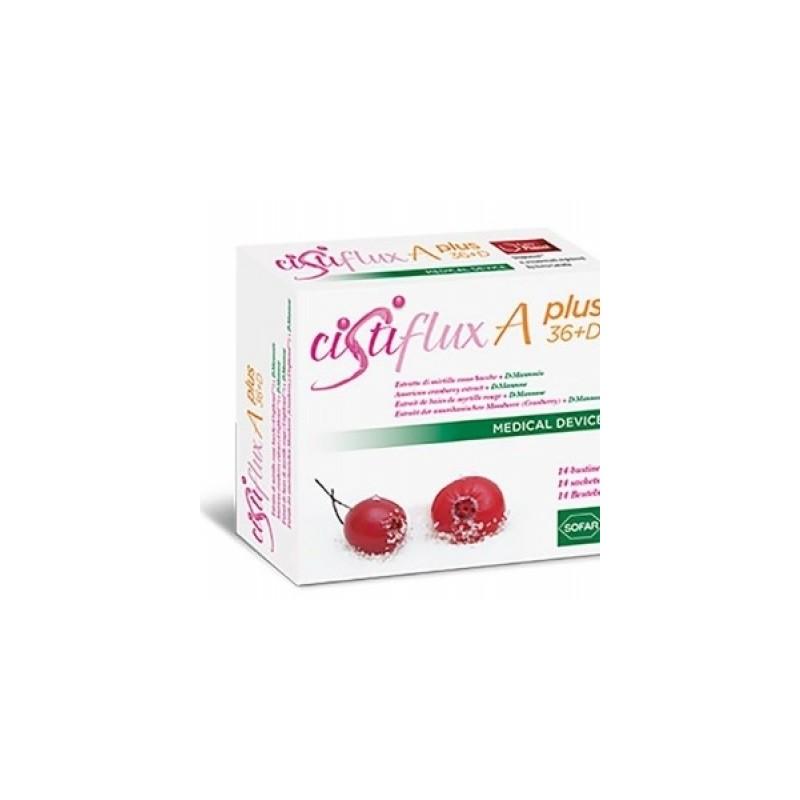 Sofar - Polvere Orale Cistiflux A A Plus 36 + D 14 Buste - 925891475
