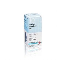 Schwabe - SALE SCHÜSSLER N.10 Natrium Sulfuricum D6 DHU 50 g. - 801364593