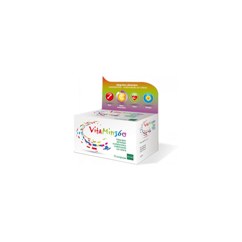 Sofar - Vitamin 360 Multivitaminico Multiminerale 70 Compresse Promozione Con Powerbank Ricarica Dispositivi Elettronici - 97...