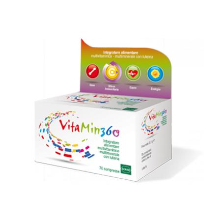 Vitamin 360 Multivitaminico Multiminerale 70 Compresse Promozione Con Powerbank Ricarica Dispositivi Elettronici