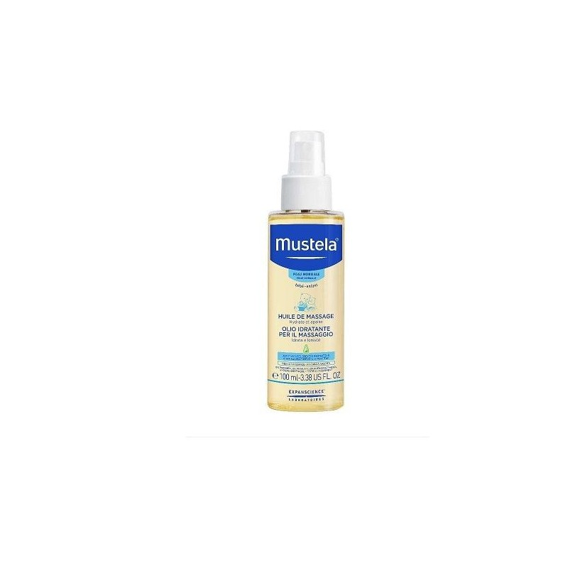 Mustela Olio Idratante Massaggio Spray Formato 110ml