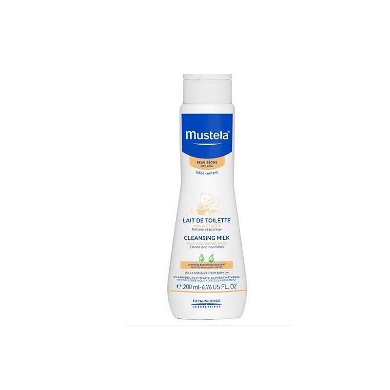 Mustela Latte Di Toilette 200ml
