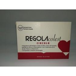 Farmaciapoint - Integratore Regola Colesterolo Circolo 30 compresse by Farmaciapoint - 940941774