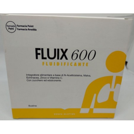 Integratore Fluidificante Fluix 600 10 bustine by farmaciapoint
