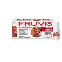 Fruvis - Fruvis Multi-vegetalfruit Pronta Ricarica E Vigore 12 Flaconcini Da 10 Ml - 935839100