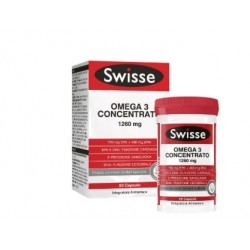 Swisse - Swisse Omega 3 Concentrato 60 Capsule - 975525799