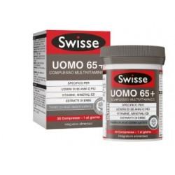 Swisse - Swisse Uomo 65+ Multivitaminico 30 Compresse - 976396150