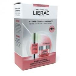 Lierac - LIERAC SUPRA RADIANCE SIERO OCCHI ILLUMINANTE 15ML + CREMA VISO DETOX NOTTE 15ML - 976289607