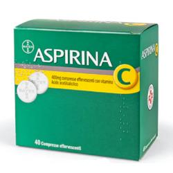 Bayer Spa - Aspirina C 40cpreff400+240mg - 004763619