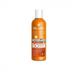 Rilastil - Rilastil Sun System Latte Solare Baby Fluido 200 ml + Dermastil Detergente 250 ml - 975985666
