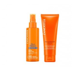 Lancaster - Lancaster Sun Beauty SPF15 Latte Spray 150ml + Tan Maximizer Dopo Sole 125ml - 976340644