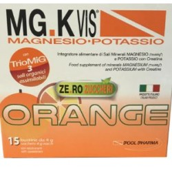Pool Pharma - MGK VIS ORANGE ZEROZUCCHERI 30 BUSTINE +15 BUSTINE OMAGGIO - 942602703